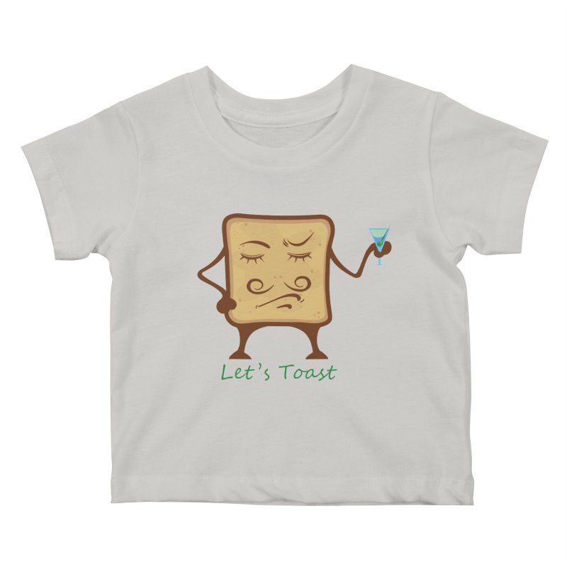 Toast Kids Baby T-Shirt by cristiscg's Artist Shop
