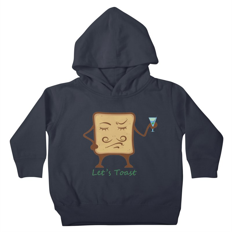 Toast Kids Toddler Pullover Hoody by cristiscg's Artist Shop