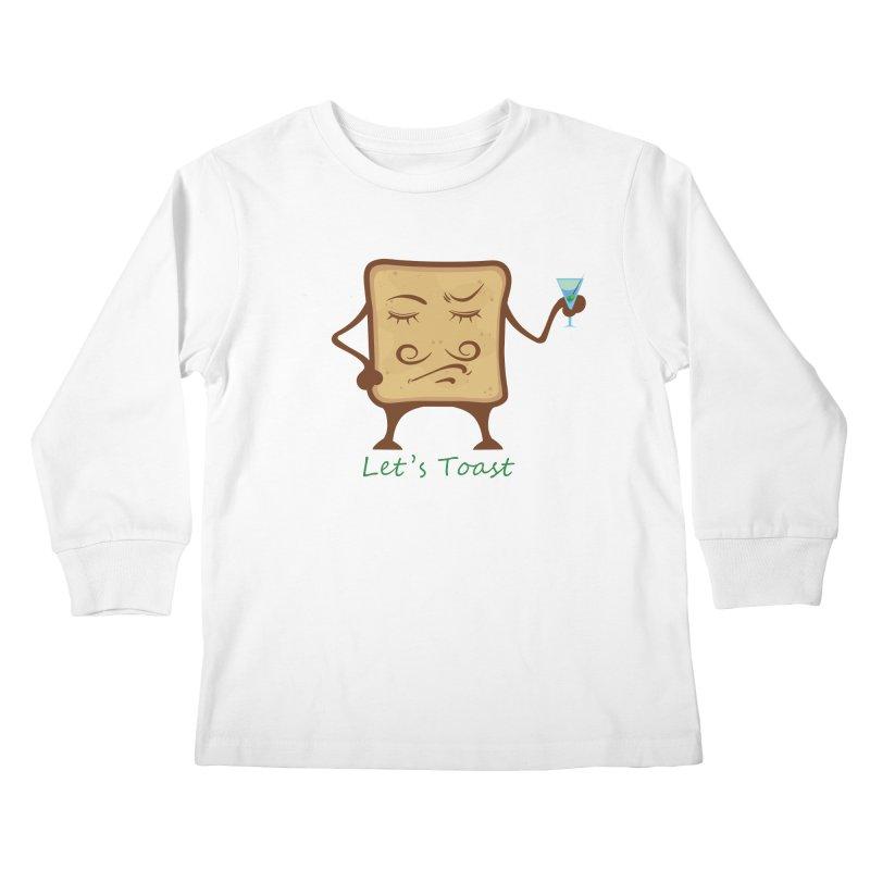 Toast Kids Longsleeve T-Shirt by cristiscg's Artist Shop