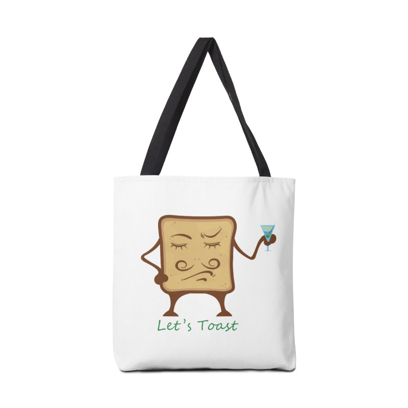 Toast Accessories Bag by cristiscg's Artist Shop