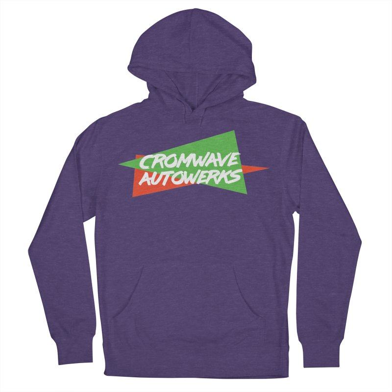 Retro Cromwave Men's French Terry Pullover Hoody by Cromwave Autowerks