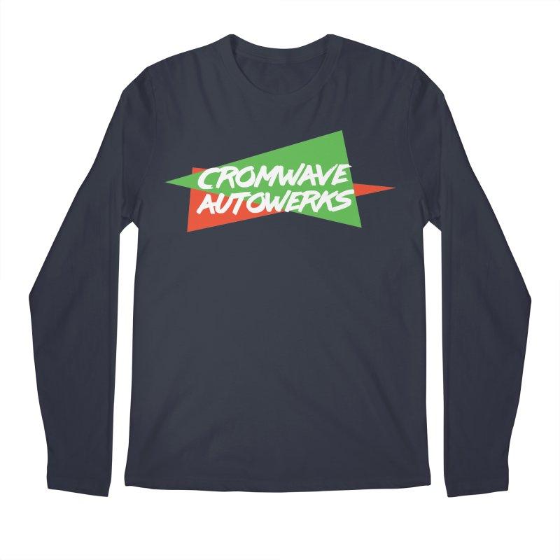 Retro Cromwave Men's Longsleeve T-Shirt by Cromwave Autowerks