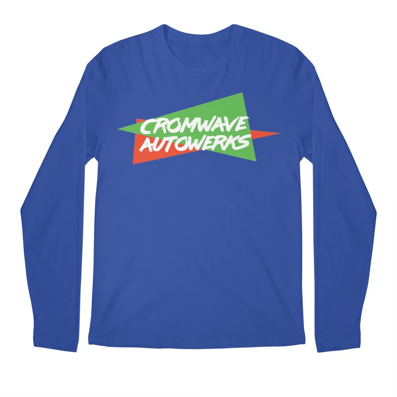 Retro Cromwave Men's Regular Longsleeve T-Shirt by Cromwave Autowerks