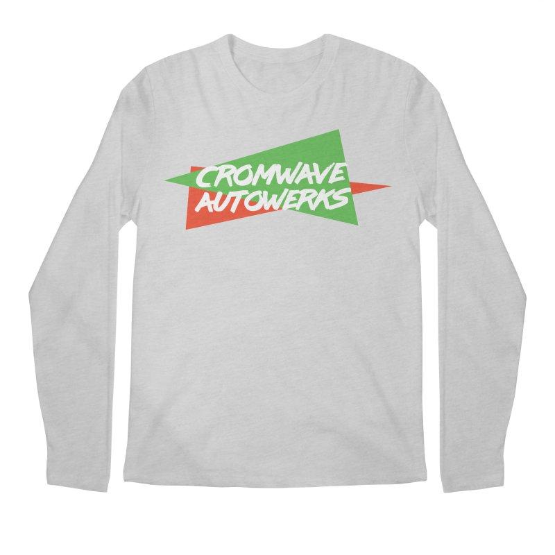 Retro Cromwave Men's Regular Longsleeve T-Shirt by Cromwave Autowerks