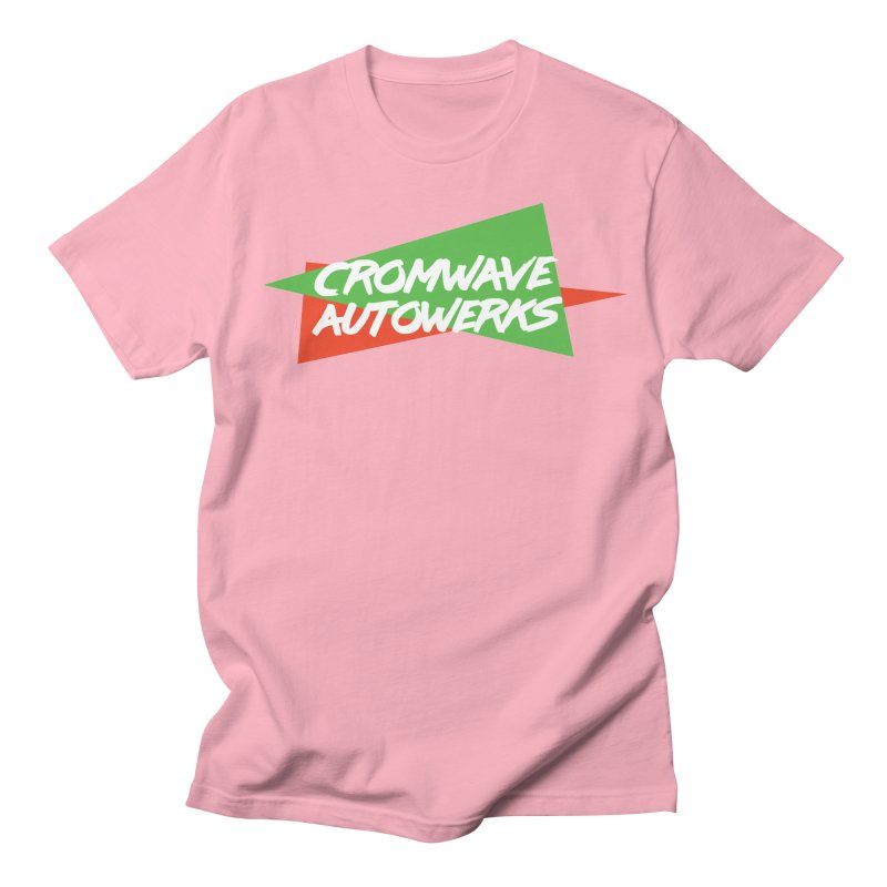 Retro Cromwave Men's Regular T-Shirt by Cromwave Autowerks