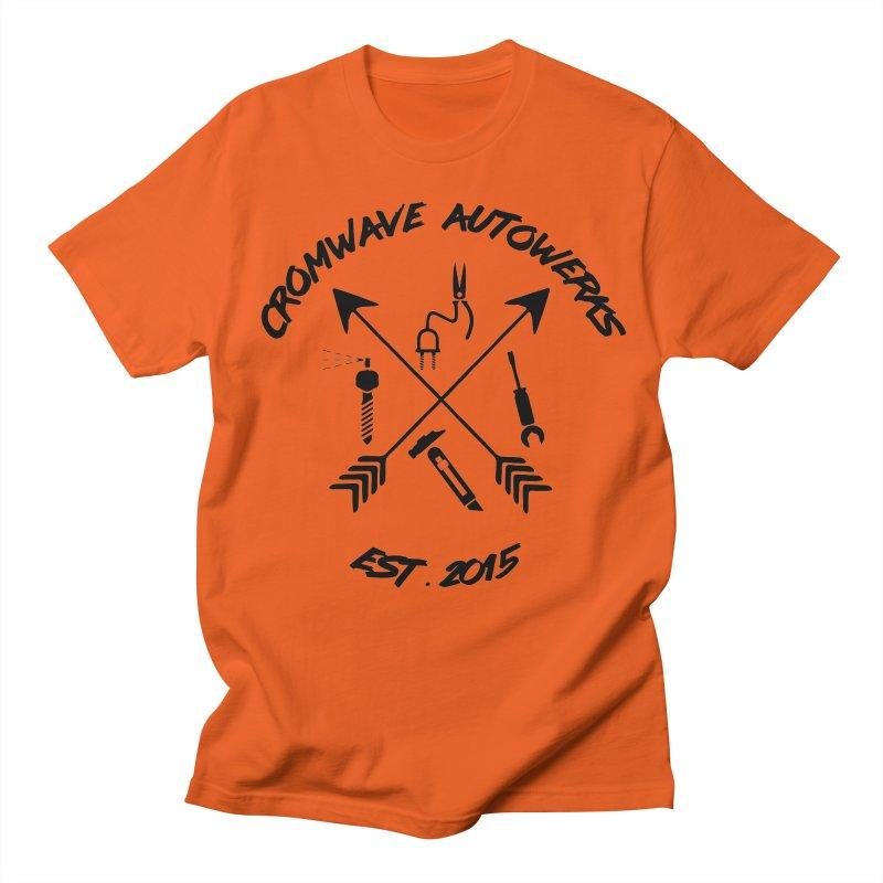 Mockery Cross Men's T-Shirt by Cromwave Autowerks