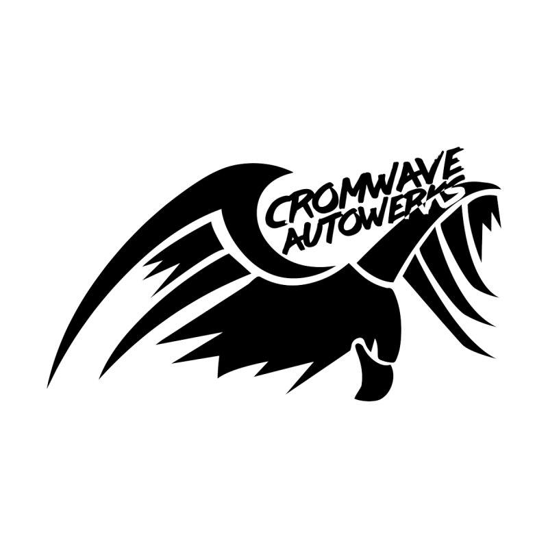 Cromwave Bird Logo Men's V-Neck by Cromwave Autowerks