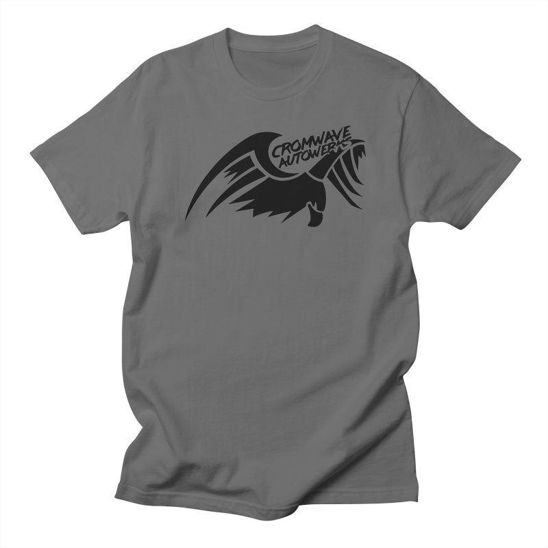 Cromwave Bird Logo Men's T-Shirt by Cromwave Autowerks