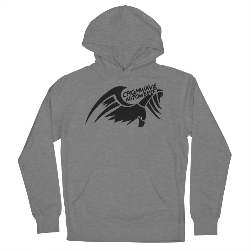 Cromwave Bird Logo Women's French Terry Pullover Hoody by Cromwave Autowerks