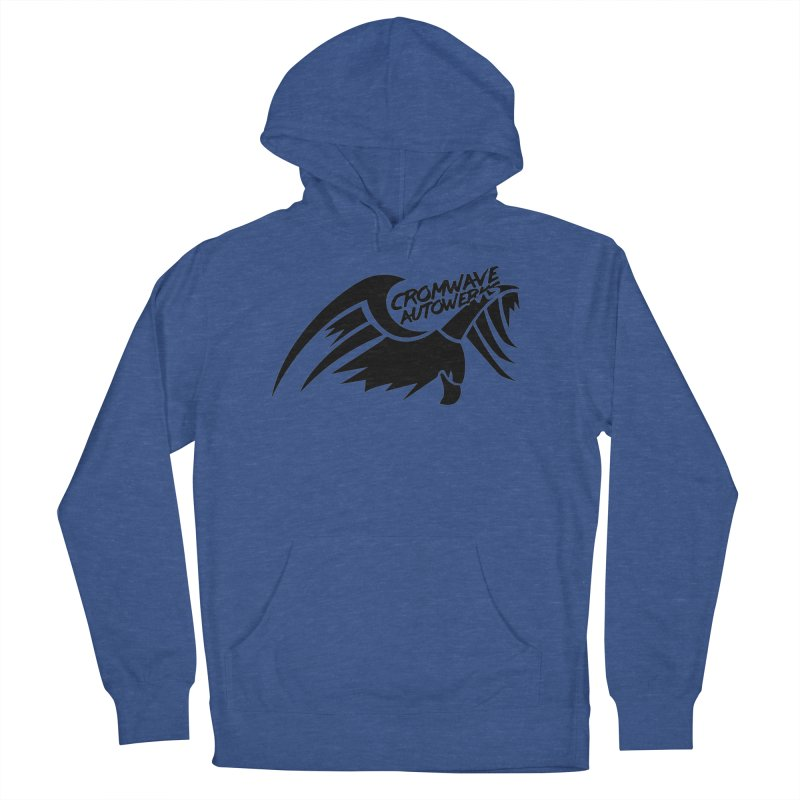 Cromwave Bird Logo Men's French Terry Pullover Hoody by Cromwave Autowerks