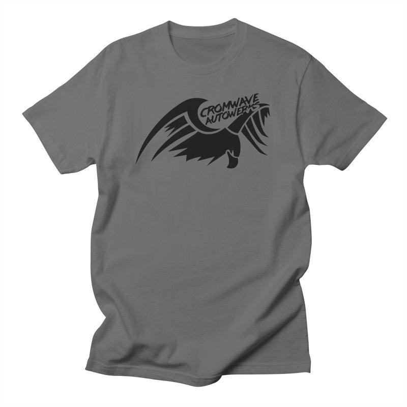 Cromwave Bird Logo Men's T-Shirt by Cromwave Autowerks