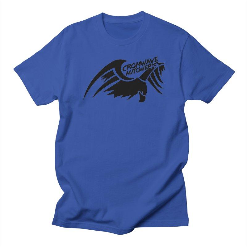 Cromwave Bird Logo Women's Regular Unisex T-Shirt by Cromwave Autowerks