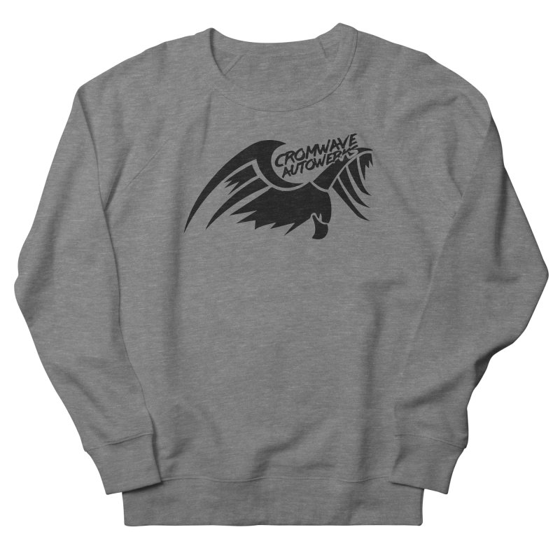 Cromwave Bird Logo Women's French Terry Sweatshirt by Cromwave Autowerks