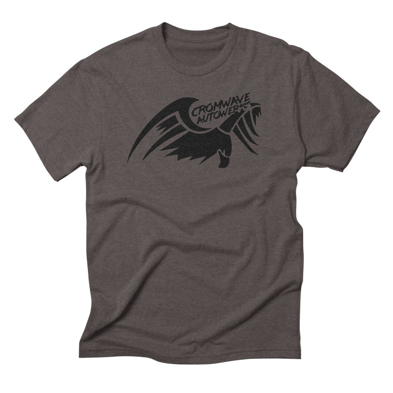 Cromwave Bird Logo Men's Triblend T-Shirt by Cromwave Autowerks