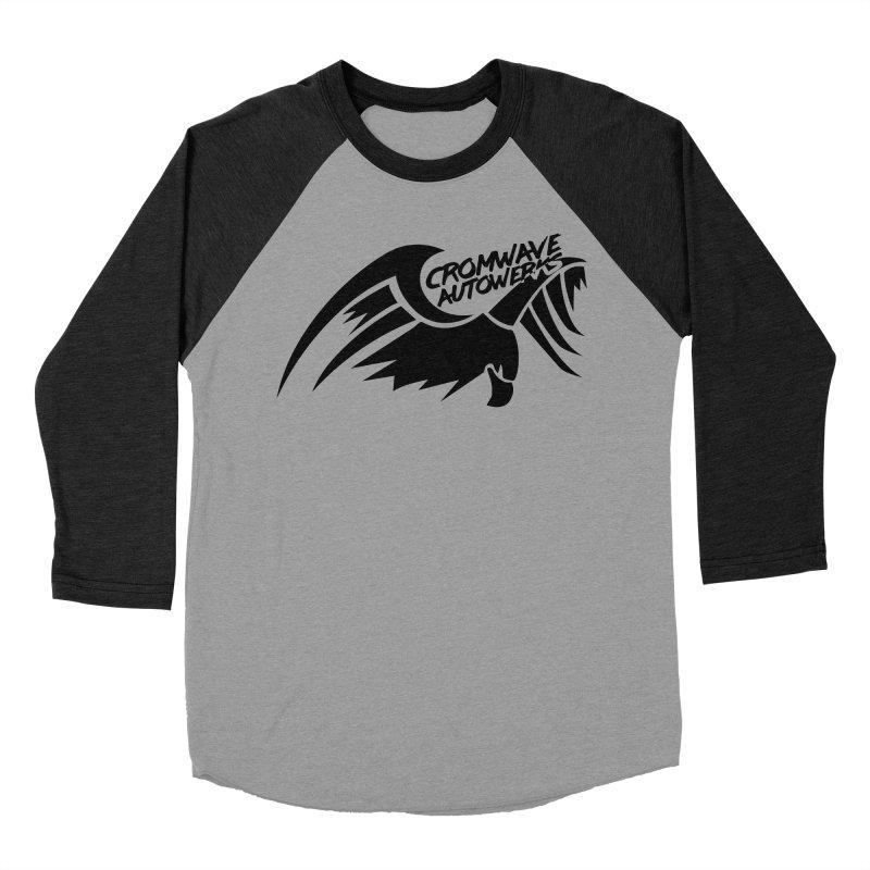 Cromwave Bird Logo Women's Baseball Triblend Longsleeve T-Shirt by Cromwave Autowerks