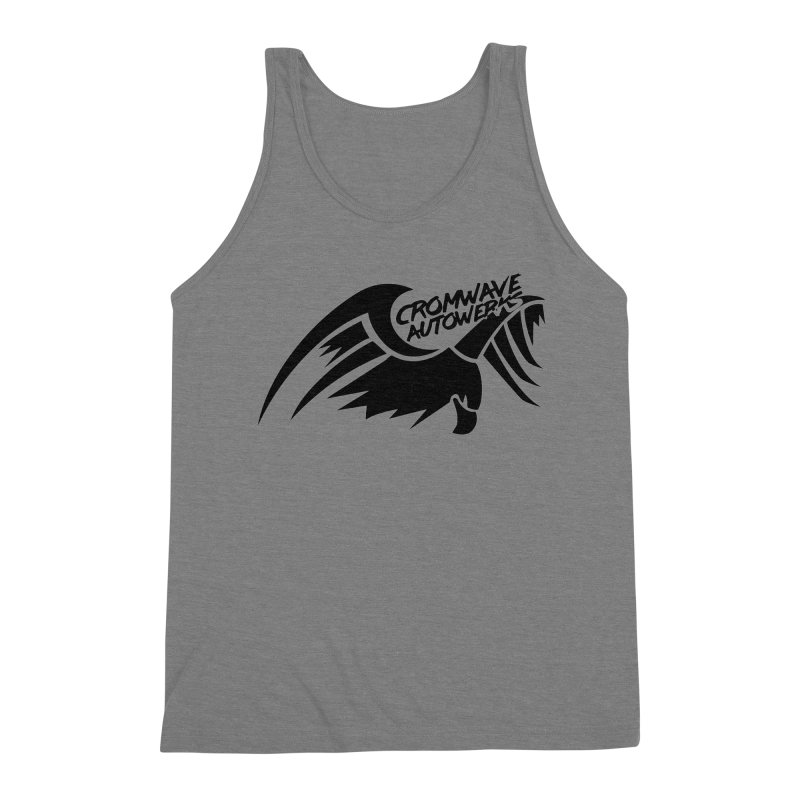 Cromwave Bird Logo Men's Triblend Tank by Cromwave Autowerks