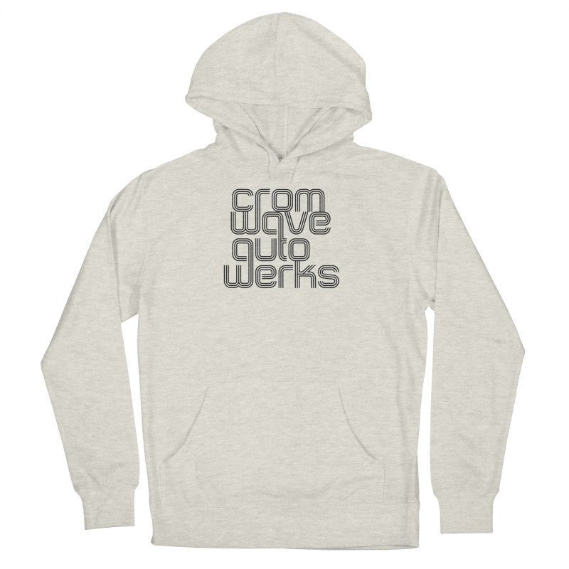Cromwave Classic Men's French Terry Pullover Hoody by Cromwave Autowerks