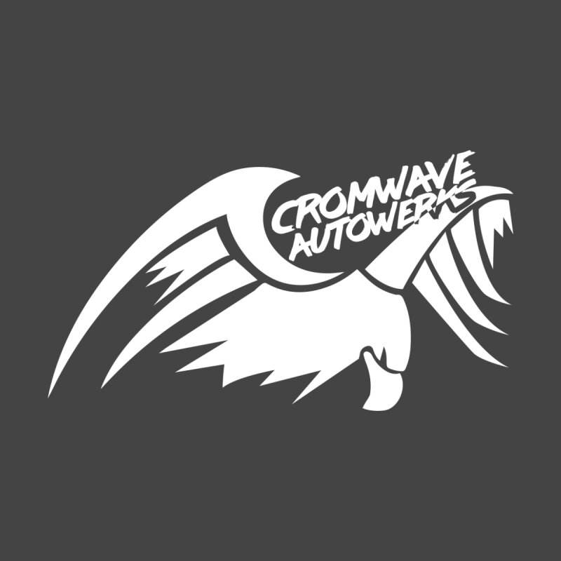 Cromwave Bird White Men's Longsleeve T-Shirt by Cromwave Autowerks