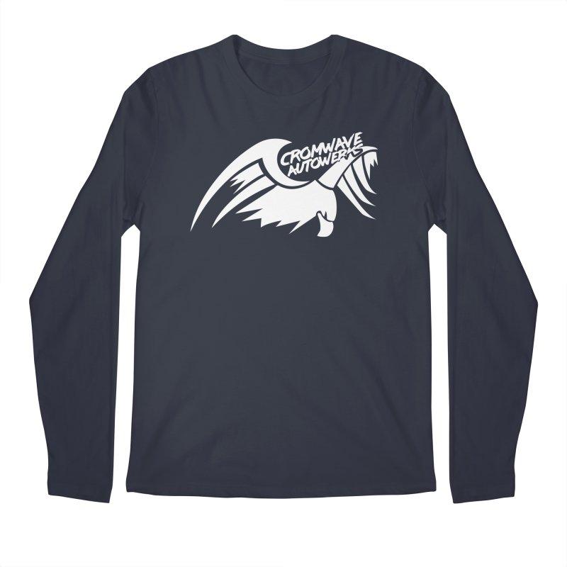 Cromwave Bird White Men's Regular Longsleeve T-Shirt by Cromwave Autowerks