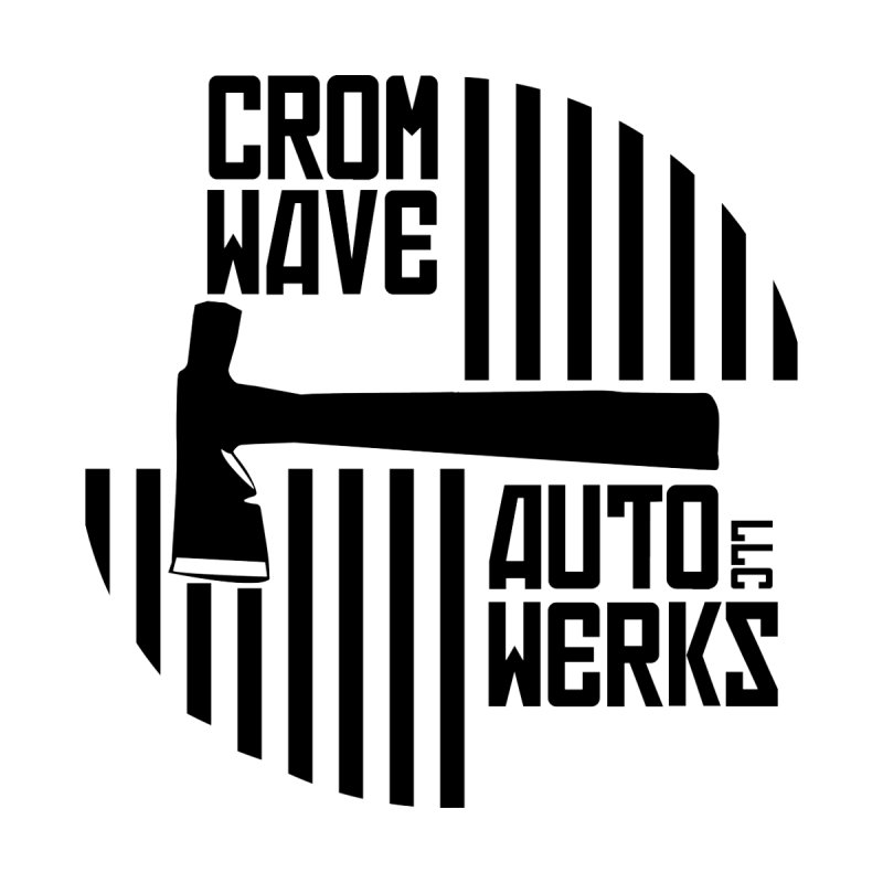 Cromwave Patch Men's T-Shirt by Cromwave Autowerks