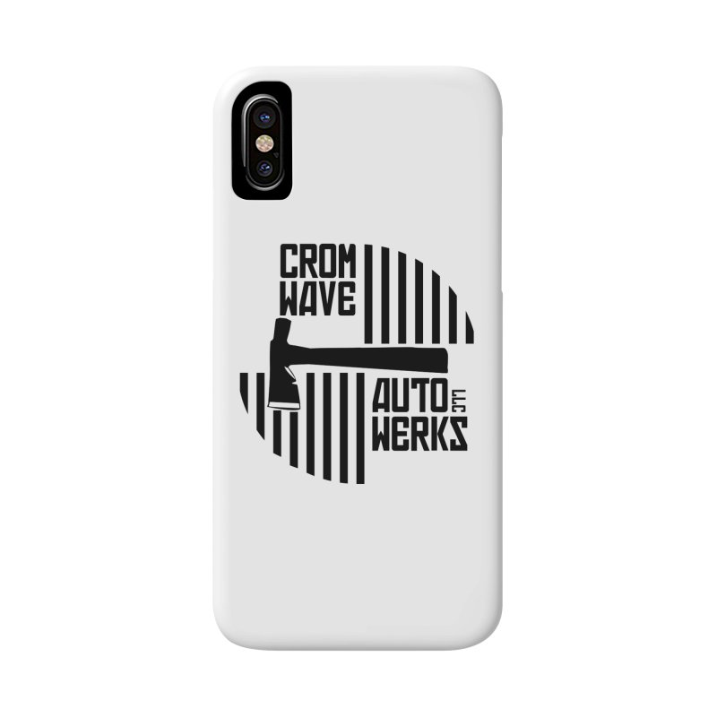 Cromwave Patch Accessories Phone Case by Cromwave Autowerks
