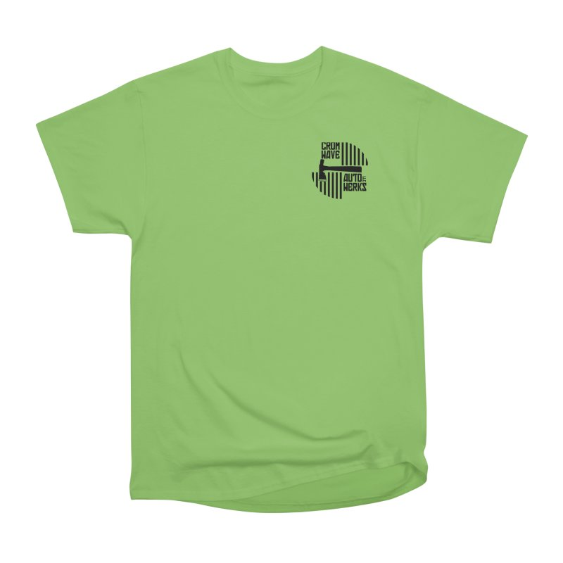 Cromwave Patch Women's Heavyweight Unisex T-Shirt by Cromwave Autowerks