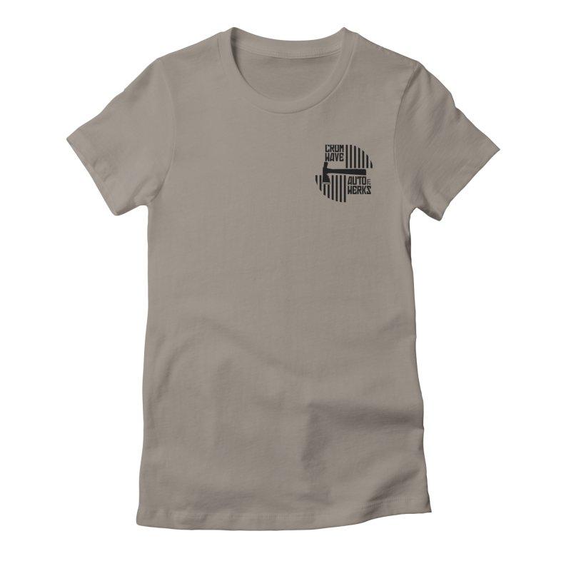 Cromwave Patch Women's T-Shirt by Cromwave Autowerks