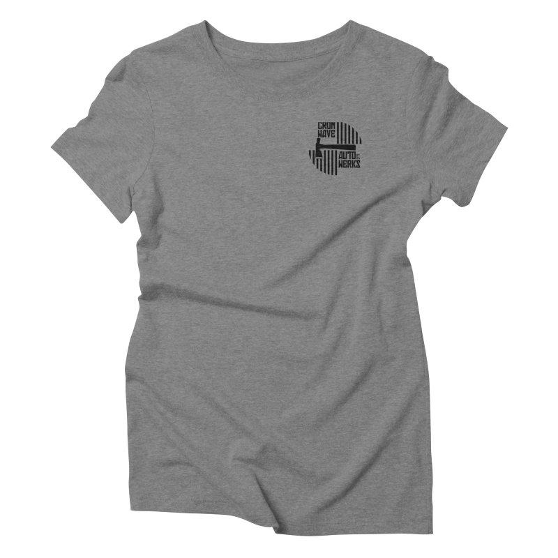 Cromwave Patch Women's Triblend T-Shirt by Cromwave Autowerks