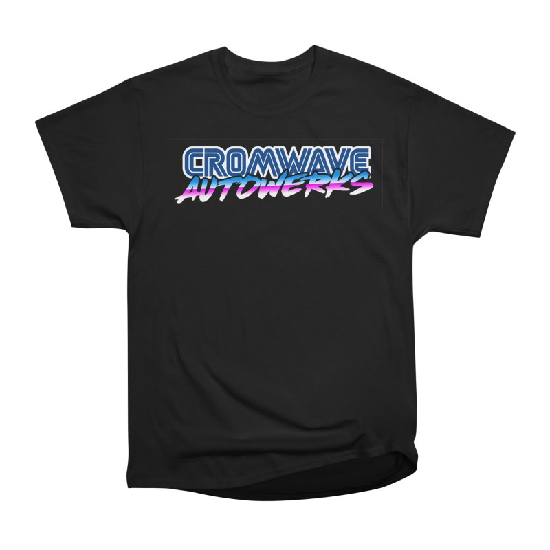 Cromwave Autowrite Men's Heavyweight T-Shirt by Cromwave Autowerks