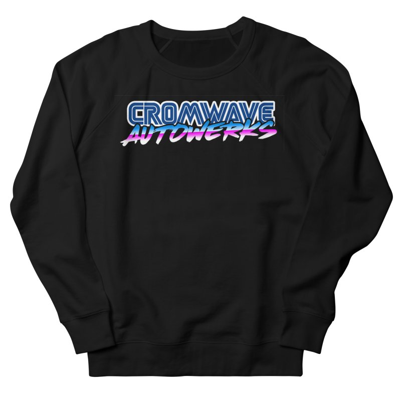 Cromwave Autowrite Women's French Terry Sweatshirt by Cromwave Autowerks