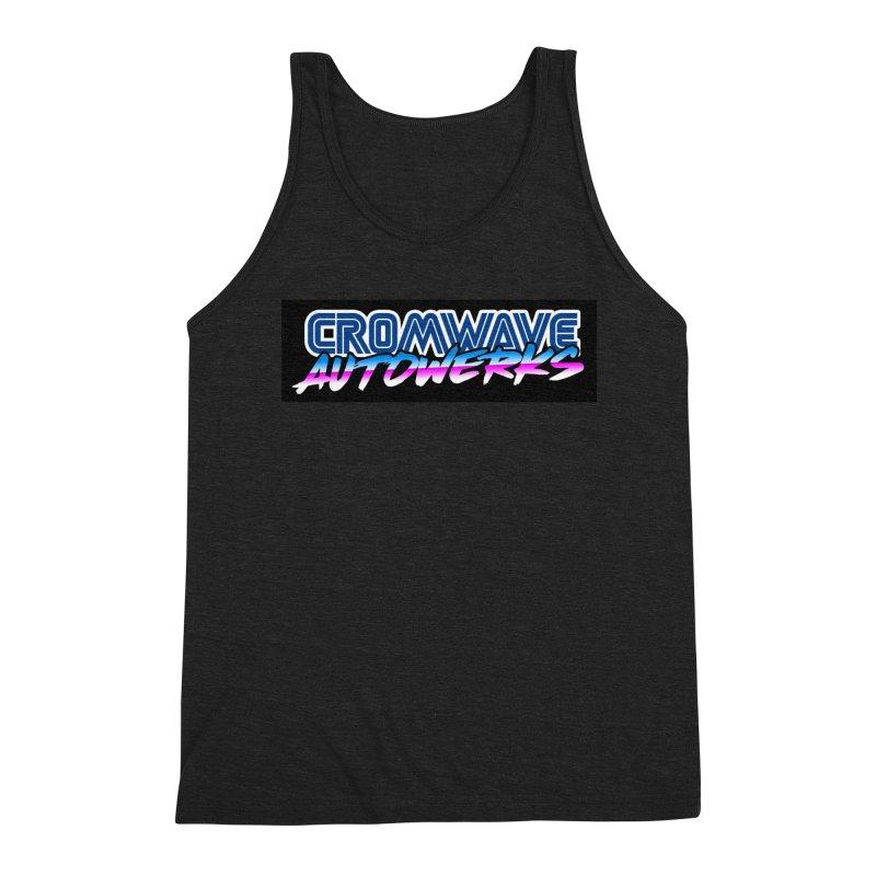 Cromwave Autowrite Men's Triblend Tank by Cromwave Autowerks