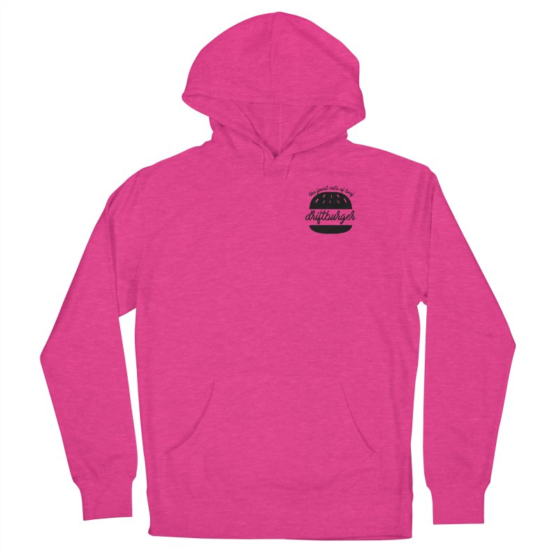 The Finest Cuts - Driftburger Black Men's Pullover Hoody by Cromwave Autowerks