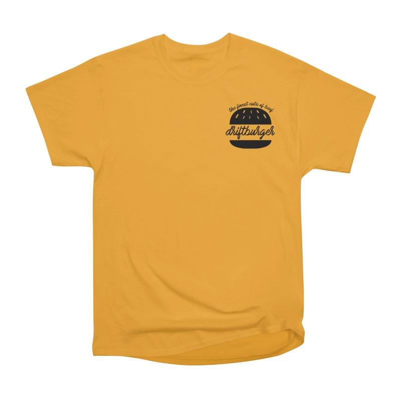The Finest Cuts - Driftburger Black Women's Heavyweight Unisex T-Shirt by Cromwave Autowerks
