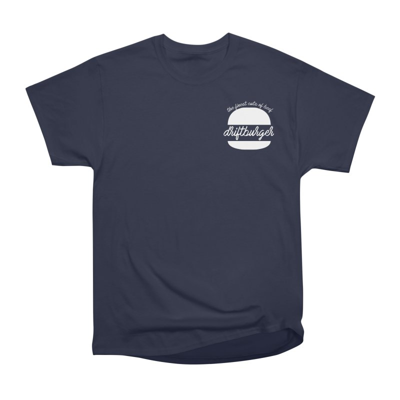 Finest Cuts - Driftburger White Women's Heavyweight Unisex T-Shirt by Cromwave Autowerks