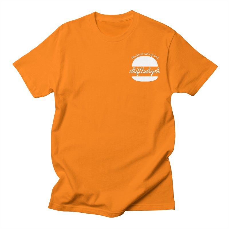 Finest Cuts - Driftburger White Women's Regular Unisex T-Shirt by Cromwave Autowerks