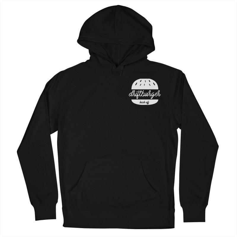 Driftburger Heck Women's French Terry Pullover Hoody by Cromwave Autowerks