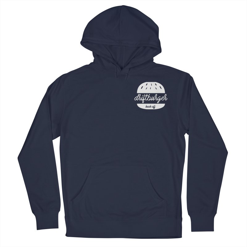 Driftburger Heck Men's French Terry Pullover Hoody by Cromwave Autowerks