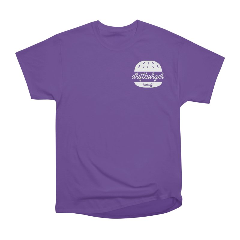 Driftburger Heck Women's Heavyweight Unisex T-Shirt by Cromwave Autowerks