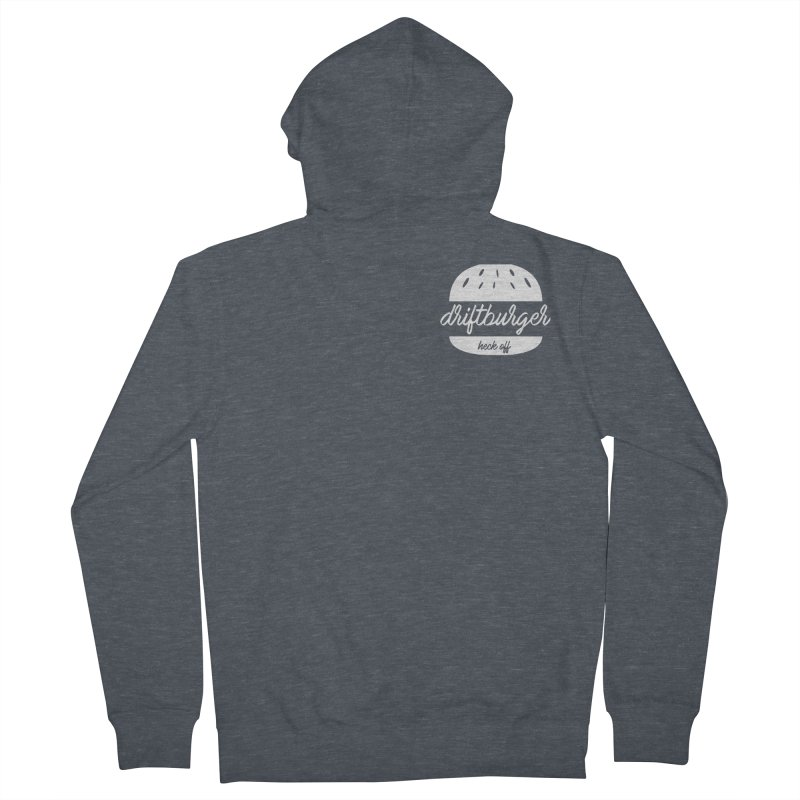 Driftburger Heck Men's French Terry Zip-Up Hoody by Cromwave Autowerks