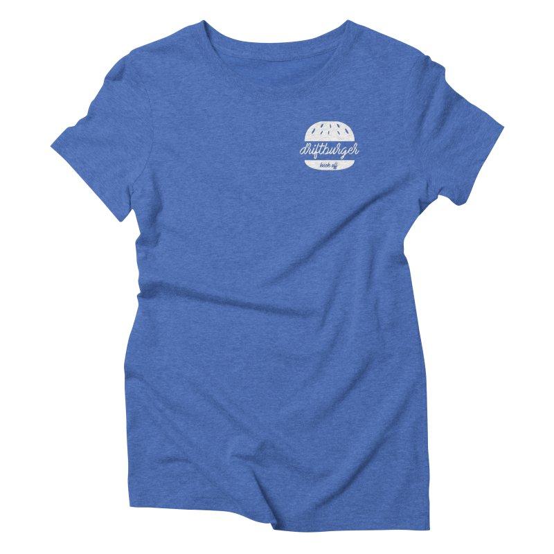 Driftburger Heck Women's Triblend T-Shirt by Cromwave Autowerks