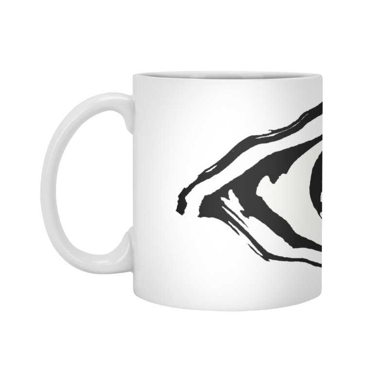 The Eye Accessories Standard Mug by Crooked Eye Swag Shop