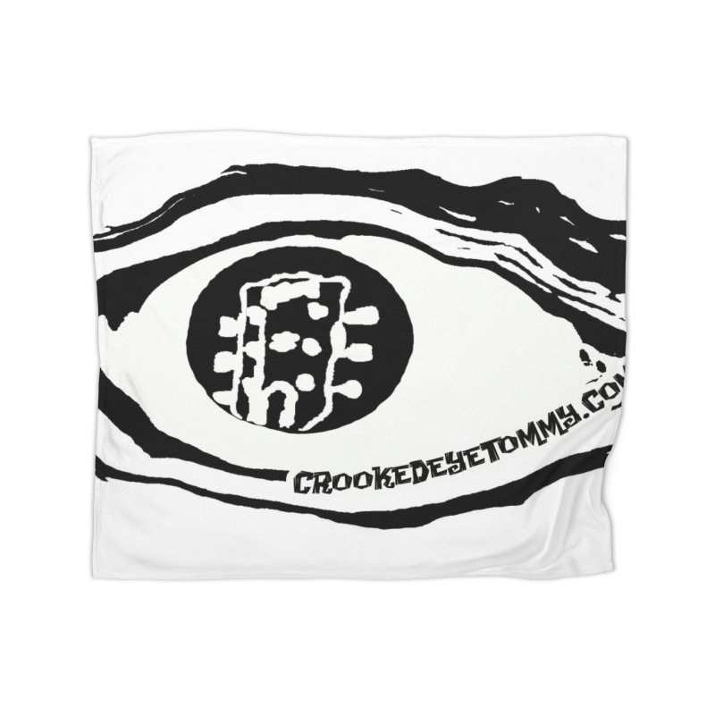 The Eye Home Fleece Blanket Blanket by Crooked Eye Swag Shop