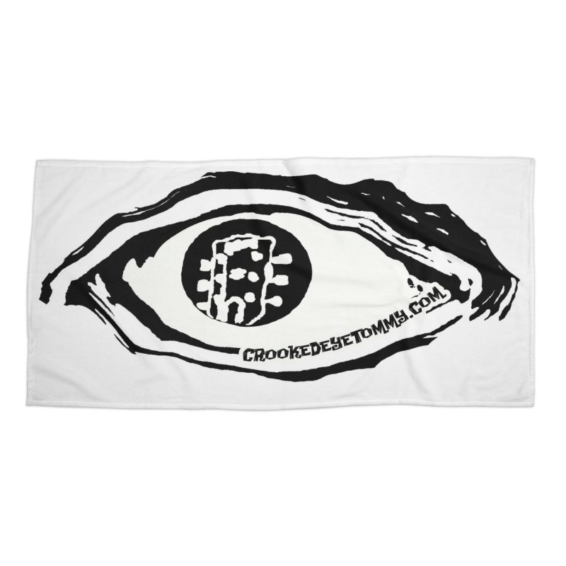 The Eye Accessories Beach Towel by Crooked Eye Swag Shop