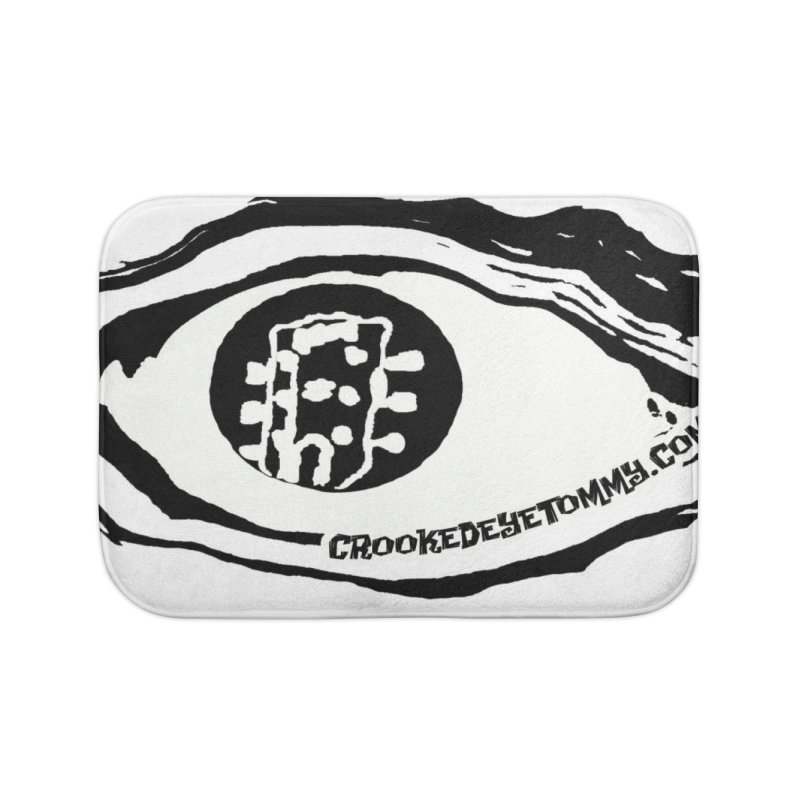 The Eye Home Bath Mat by Crooked Eye Swag Shop