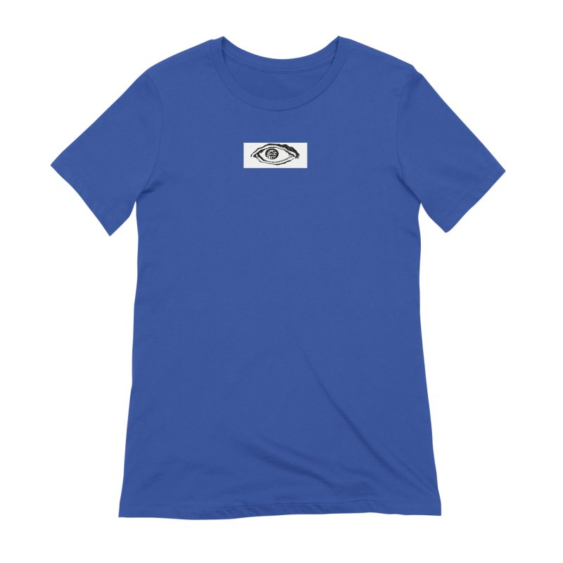 The Eye Women's Extra Soft T-Shirt by Crooked Eye Swag Shop