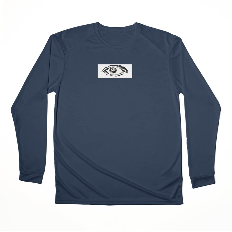 The Eye Men's Performance Longsleeve T-Shirt by Crooked Eye Swag Shop