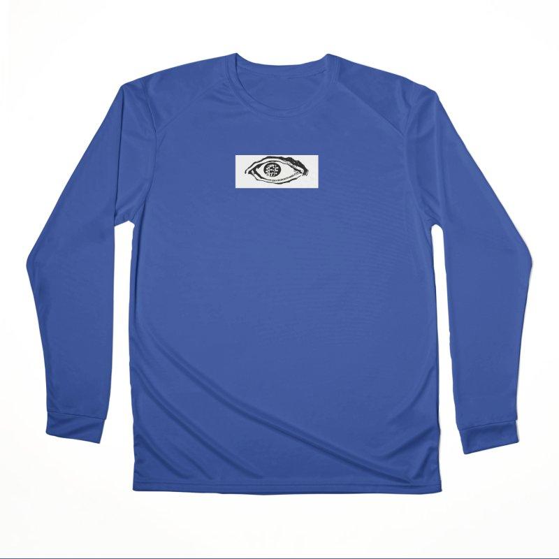 The Eye Women's Performance Unisex Longsleeve T-Shirt by Crooked Eye Swag Shop