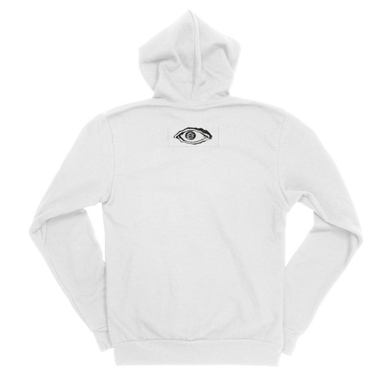 The Eye Men's Sponge Fleece Zip-Up Hoody by Crooked Eye Swag Shop