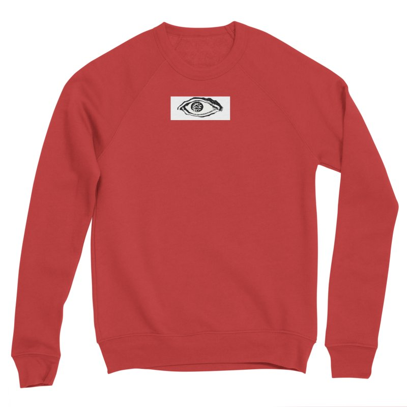 The Eye Men's Sponge Fleece Sweatshirt by Crooked Eye Swag Shop