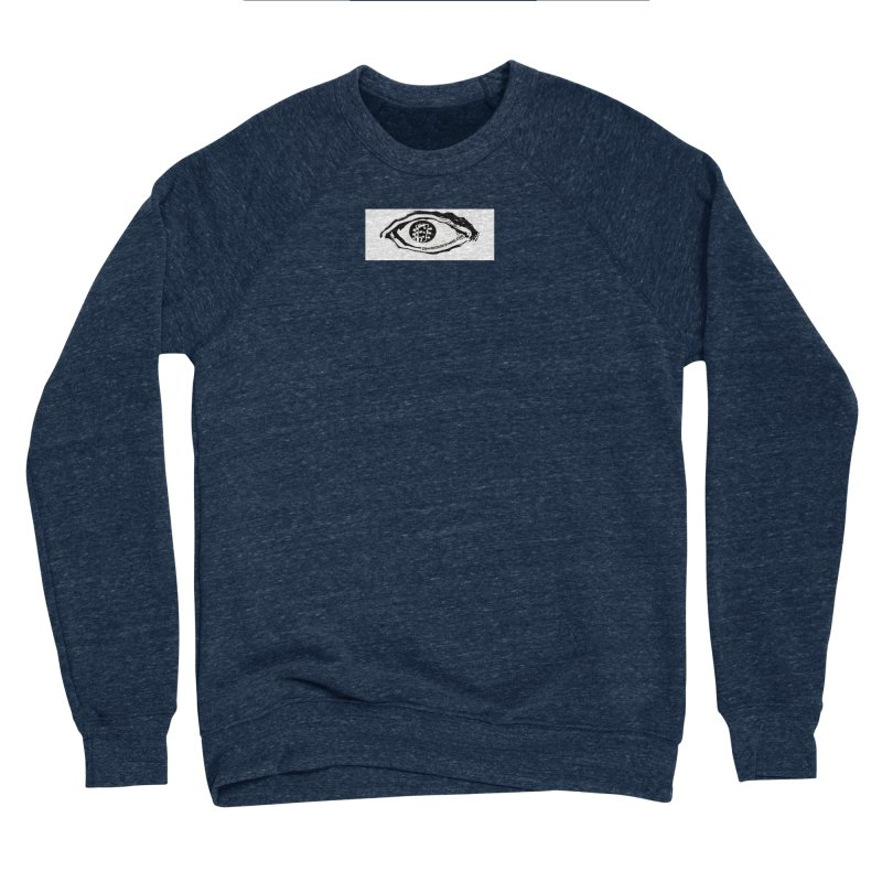 The Eye Women's Sponge Fleece Sweatshirt by Crooked Eye Swag Shop